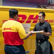 DHL International Service - Doorstep Pickup & free packing in chennai